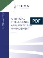 Inteligencia Artificial Aplicada a La Gestion de Riesgos