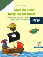 Od słowa do słowa toczy się rozmowa (Przemysław E. Gębal) [Kraków, 2009].pdf
