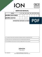 Denon  AVR - 3313 ALL  Recv.  ( Ver. 6 )..pdf