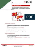 MODIFICACIONES AYUDAS TRABAJADORES ERTES JUNTA DE CASTILLA Y LEON