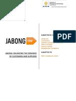 Jabong Case (GROUP 7)