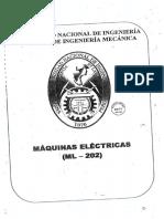 UNI - MAQUINAS ELECTRICAS- ML-202