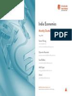 BOB Economics - Monthly Chartbook 10May19