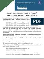 Anunt test doct LINGUATEK 2019.pdf