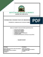 10%-CS008 -Chesinende Box Culvert-Tender Document