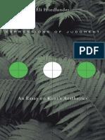 Eli Friedlander - Expressions of Judgment_ An Essay on Kant's Aesthetics-Harvard University Press (2015).pdf