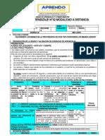 SESION DE APREND. .  02 DE 4TO GRADO II UNIDAD.docx