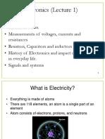Basic Electronics Lecture 1