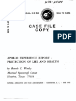 Apollo Experience Report Protection of Life and Health