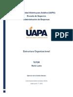 Tarea5 Estructura Organizacional Karla Gonzalez 17-4904