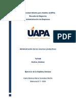 Tarea 7 Recursos Productivos Karla Gonzalez 17-4904