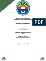 Informe-de-Lenguajes-de-Programacion-Frabcklin