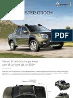 Ficha técnica Renault Duster Oroch (2020)