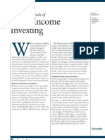 The Fundamentals of Fixed Income Investing
