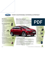 Ford Sustainable Materials Fact Sheet