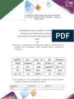 CONJUGACIONES DEL VERBO GRIEGO EN TIEMPO PRESENTE, ADVERBIOS Y TIPOS, PREPOSICIONES Y REGIMEN, TIPOS DE DERIVACION.docx