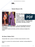 Makow- What the Burka Means to Me - henrymakow.com