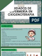Cuidados de Enfermería en Oxigenoterapia