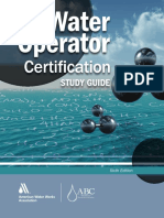 Water Operator Certification Study Guide, A Guide to Preparing for Water Treatment and Distribution Operator Certification Exams, 6th Edition.pdf