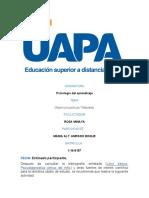 TRABAJO FINAL DE PSICOLOGIA DEL APRENDIZAJE