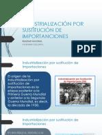 6. INDUSTRIALIZACIÓN POR SUSTITUCIÓN DE IMPORTACIONES