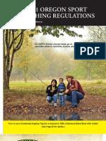 2011 Oregon Fishing Reglations Brochure