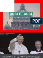 ArchB's talk for the Council of the Laity (VirtueAL Conference) - Urbi et Orbi 2020