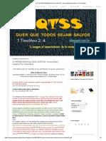 Perseverança Dos Santos_ Versos [Mal-] Usados Por Calvinistas