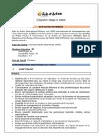 Avis de recrutement Equipe_ Projet PAQUE A publier+DRA(1)