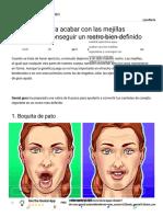 8 Ejercicios para acabar con las mejillas regordetas y conseguir un rostro bien definido