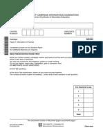 November 2010 Question Paper 62 (199Kb)
