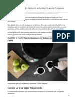PDG-Cómo Acentuar o Reducir la Acidez Cuando Preparas Café