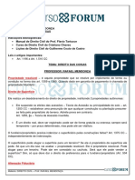 DIREITO CIVIL - RAFAEL MENDONÇA - DIREITO DAS COISAS - AULA 2