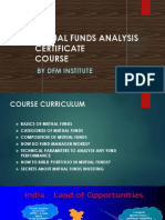 MUTUAl FUNDS COURSE
