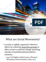 social movements powerpoint