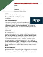 Formulation Projet