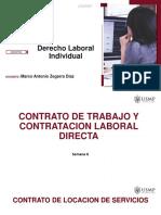 CONTRATOS DE TRABAJO CONTRATACION DIRECTA