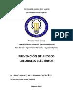 DIAZ GONZALEZ  Marco Antonio. Prevencion de riesgos laborales electricos  NC 12883 .pdf