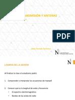 SEMANA 02 - LINEAS DE TRANSMISIÓN - UPN 2020 - 1