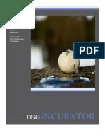 Egg Incubator - Project Report