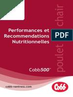 Performances et RENDEMENT COBB500