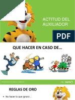 ACTITUD DEL AUXILIADOR