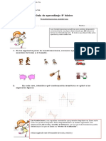 Guía de ejercicios transformaciones isométricas 8