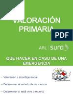 Valoración primaria