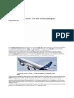 Airbus A330-200F Technical Description