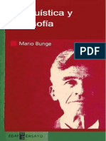 Bunge Mario - Linguistica Y Filosofia