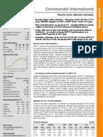 Coromandel International Q3FY11 Result Update