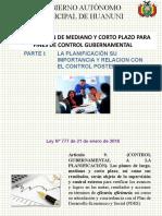 Presentación Plan Mediano y Corto Plazo GAMH