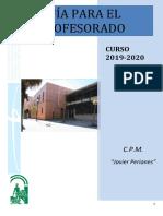 Guía del Profesorado 2019-2020