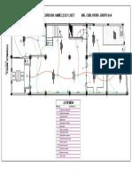 PLANO INSTALACIONES ELECTRICAS- PRIMER NIVEL- LESLY CORODOVA JAIME